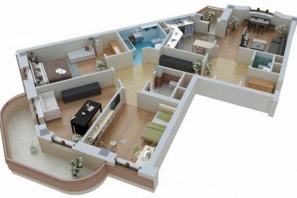 Объединение двух квартир