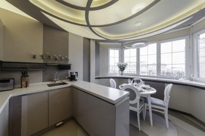 Перепланировка кухни и ее перенос