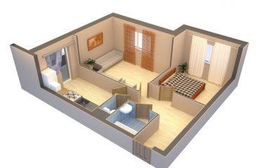 Перепланировка смежных комнат